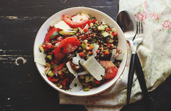 lentil bowl