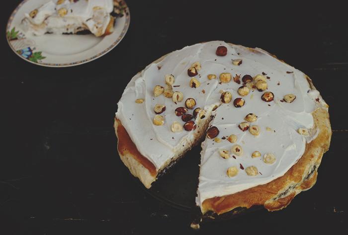 choc hazelnut torte slice 2